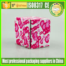 fashion round paper box for paper tube for knitting needle