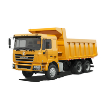 Chinese SHACMAN F2000 18 cbm 6*4 10 wheelers tipper dump truck in Algeria