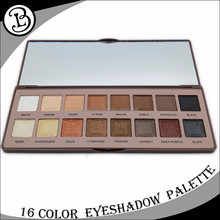 Custom makeup palette 16 color eyeshadow private label