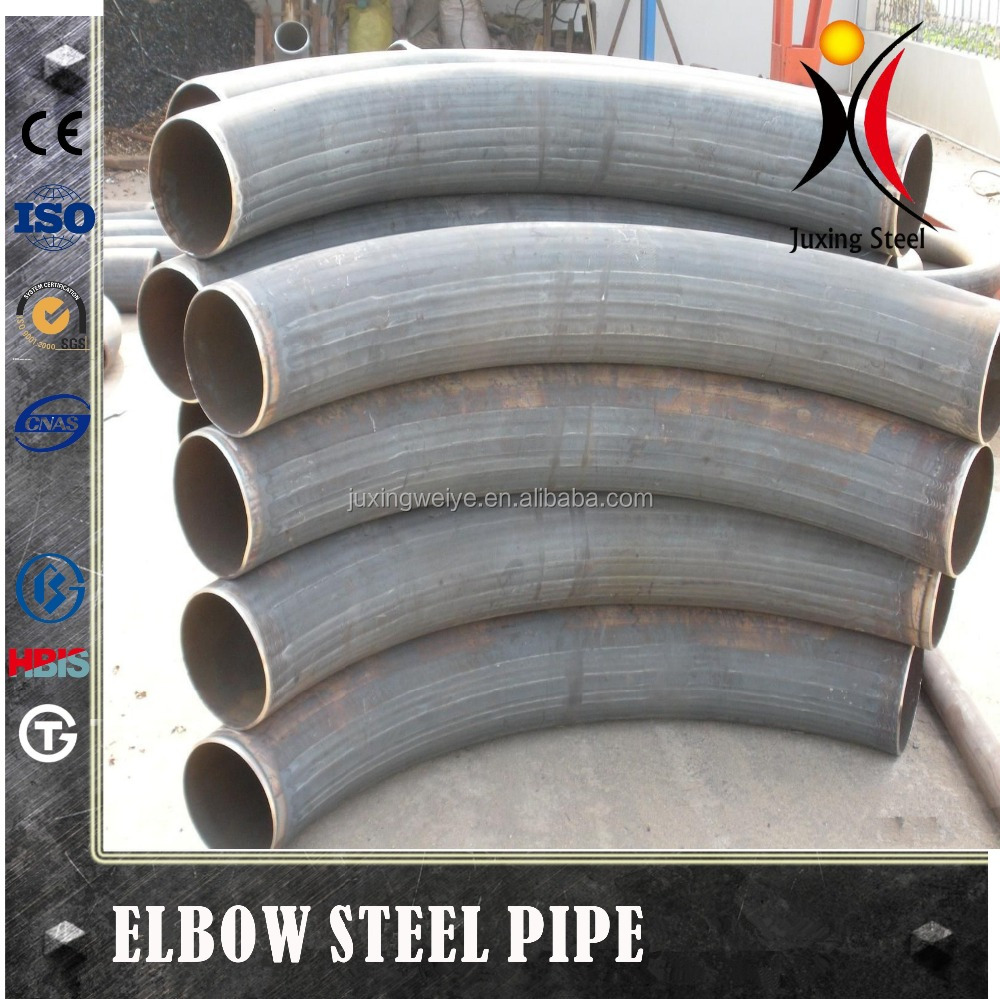 8 inch 3 inch steel volume pipe 45 degree elbow fitting