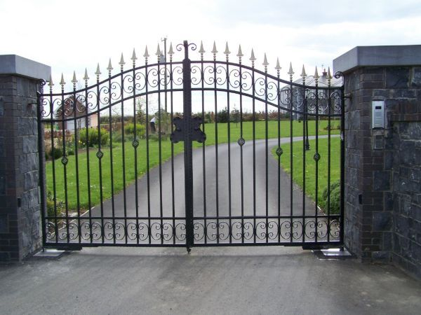 Luxury Wrought Iron Gate SG-15G007