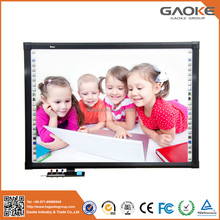 School high quality polished freestanding magnet board no projector interactive whiteboard