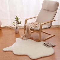 Wholesale natural wool carpet/genuine leather/imitation wool carpet round shape carpet