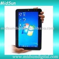 windows tablet pc dual sim mid umpc capacitance touch screen built in 3G and GPS android 2.2 sim card slot GSM phone