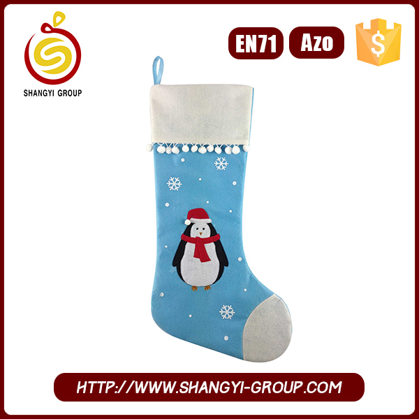 High Quality Christmas Decoration Stocking Felt