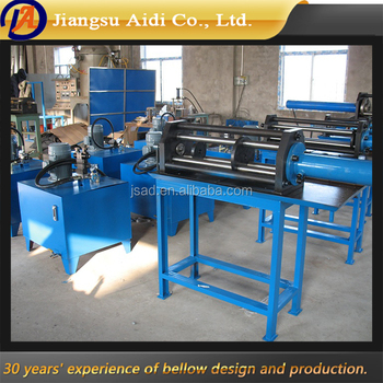 Gold supplier China hydraulic bellow forming machine