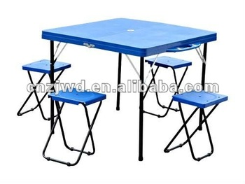En plastique en plein air table pliante de pique nique for Canadian tire table pliante