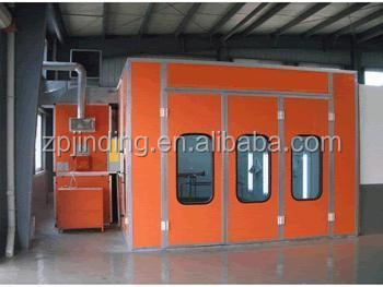 used powder coating spray booth for sale