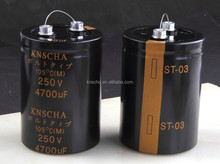 Capacitor 400V 3900uF,Standard industrial Screw Terminal Electrolytic Capacitor,Low price capacitor hot sale in United States Et