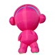 Cute red color large inflatable cartoon doll for advertising,giant inflatable figures for sale
