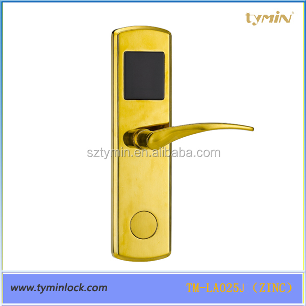 New electronic intelligent security card hotel door slam lock