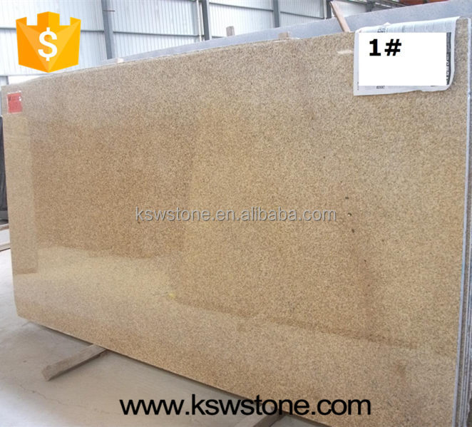 G682 rustic yellow Chinese cheap yellow granite tile and graite slab