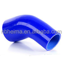"2"" to 2.5"" 51mm - 64mm Silicone 45 Degree Elbow Reducer Pipe Hose"