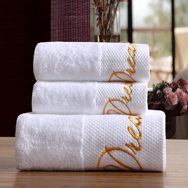 Luxury Five Star Hotel 100% Cotton Bath Towel 150X80cm Super Weight 800g Absorbent Soft High Quality China
