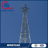 sample supply newly design gsm antenna mobile telecom three legs self supporting tower