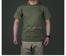 Wholesale cheap military army green tactical combat t shirts