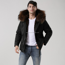 Protected Winter Suit <strong>Man</strong> Fur Lined Military Jacket Hooded