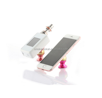 e cigarette holder custom supplier Promotional Christmas gifts silicone/acrylic ecig car holder