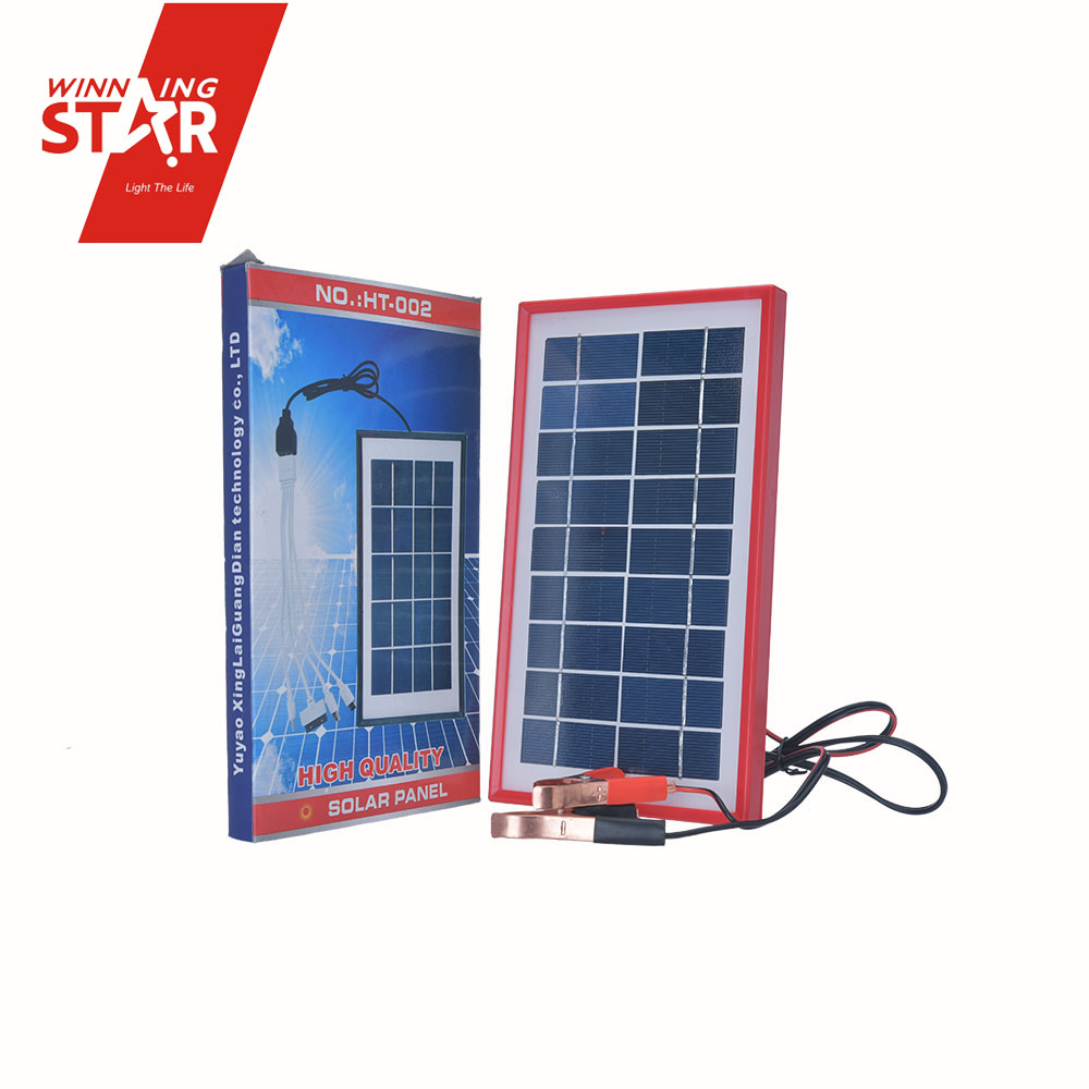 high quality solar system 9V solar power board with Clip wire