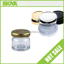 30ml clear flint glass jars for jam