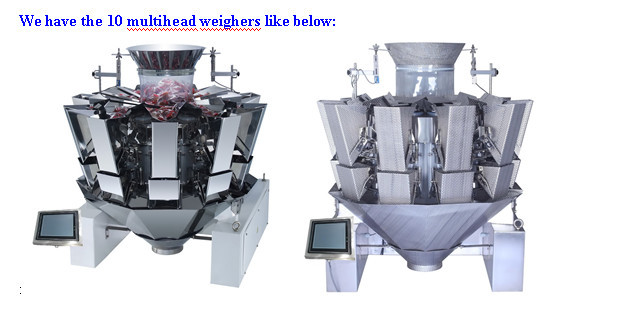 10 heads double door multihead combination weigher JY-10HDST