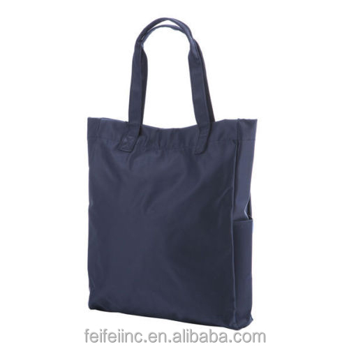 Promotional nylon shopping bag, recycle shopping tote bag wholesale