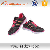 Alibaba golden supplier light weight safety sports shoes for woman with good price
