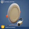 Aluminum Frame+LGP Modern Cheap Good Quality led round panel light 9w