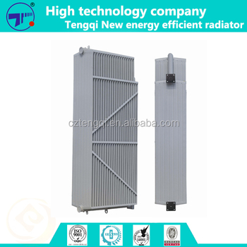 Oil immersed transformer radiator in china