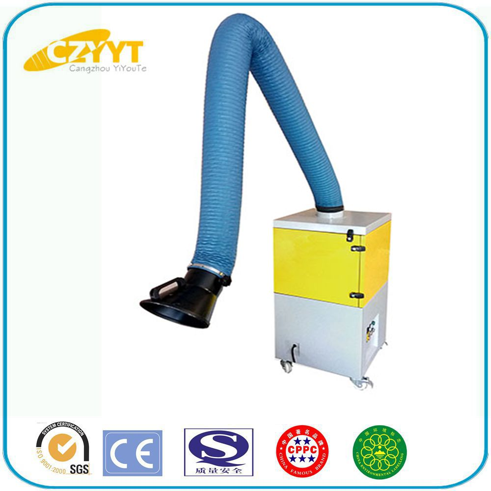 High quality protable mobile welding fume smoke dust collectors extractor