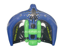 2014 Best selling Towable Inflatable water ski tubes, flying Manta Ray