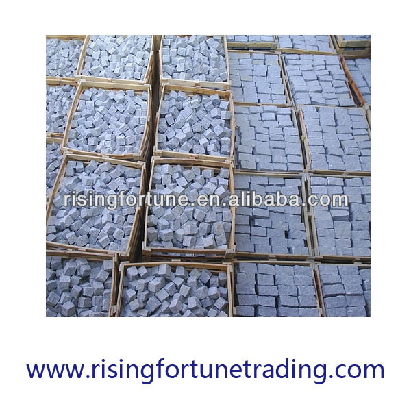 G603 grey granite setts 20*10*5cm