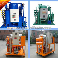 ZJC-R Series lubricatng oil purifier machine / Hydraulic oil filtration system