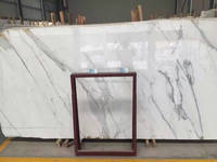 Competitive price italian white Calaeatta marble slabs