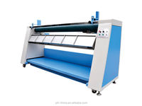 Multi-funcitonal automatic edge fabric relaxing and folding machine for textile ,garment industry