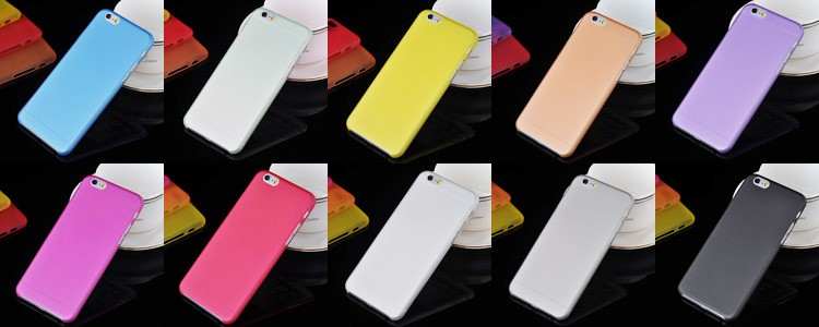 2016 hot sales 0.3mm Ultra thin PP Soft Matte Phone Case for iphone6