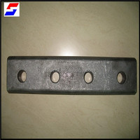 UIC54/UIC60/BS90A/BS80A fish plates/fish bolts with nuts and washers