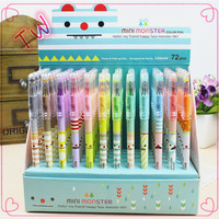 malaysia stationery manufacturers,Gift promotional white plastic gel pen,Office & School universal rainbow gel pens