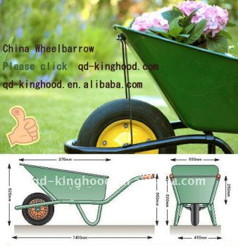 garden carts and wheelbarrows