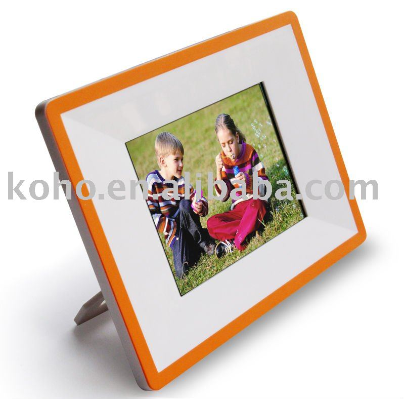 "3.5"" digital photo frame with Touch Menu"