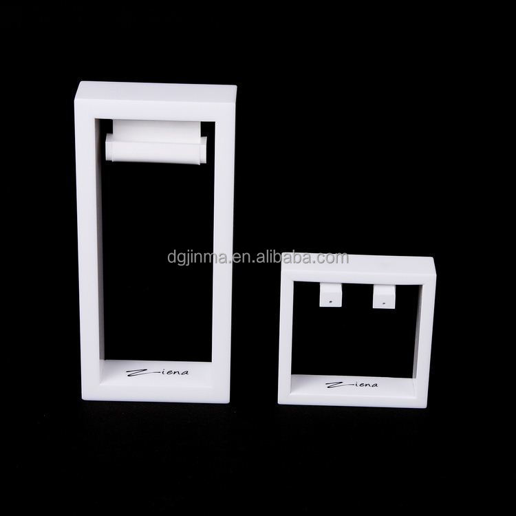 exhibition acrylic display jewelry ring earring holder stand