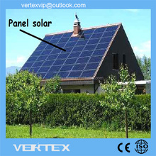265Watts Popular Small German Solar Panel With 156x156 Solar Cells Solar Roof Tiles For Houses