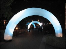 Customized inflatable LED archway/inflatable arch for large events