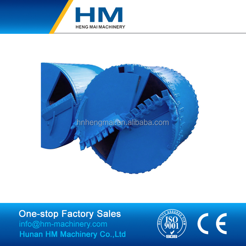 Piling Use Drilling Rig Spare Parts Of Double Cut Clay Drilling Bucket