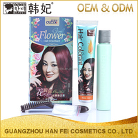 Hot Selling Plant Nourish Hair Essence Hair Color Cream Natural No PPD Magic Hair Coloring