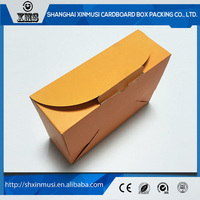 2016 best seller OEM brown kraft paper box
