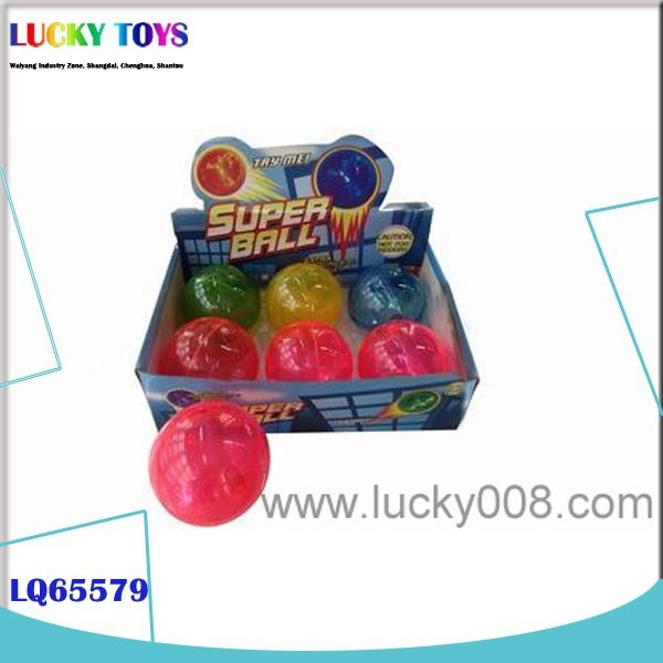New mini bouncing ball Products 10cm rubber balls small plastic toys plexiglass sphere crystal spring ball wholesale