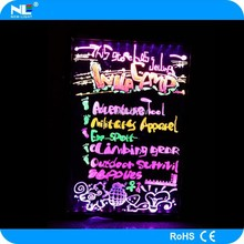 Newlight Alibaba Express hot sale Shenzhen led menu board , LED writing board for shops
