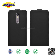 Smooth Slim PU Leather Flip Case for Motorola moto x force , for moto x force
