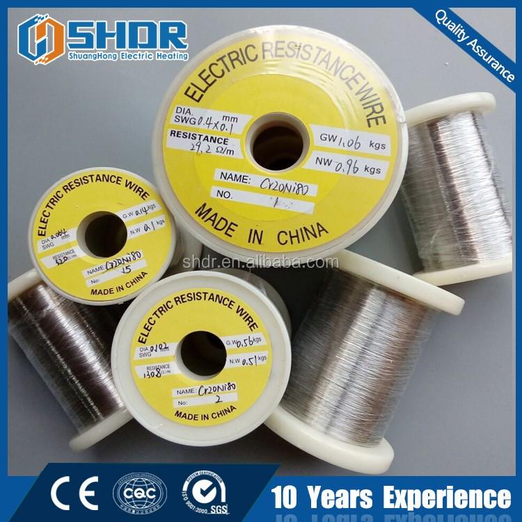 nichrome heating strips
